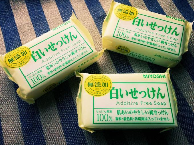 ミヨシの白い石鹸×3個