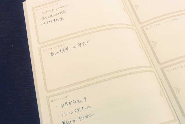 ムーンプランナー手帳