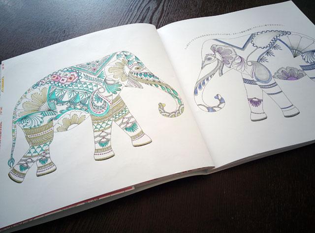 大人の塗り絵 動物たちのぬり絵ブック ミリー・マロッタ