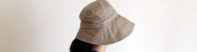 レディース UVカット 帽子 夏 つば広 ハット 岡田美里 mili millie 「可愛いセレブハット」
