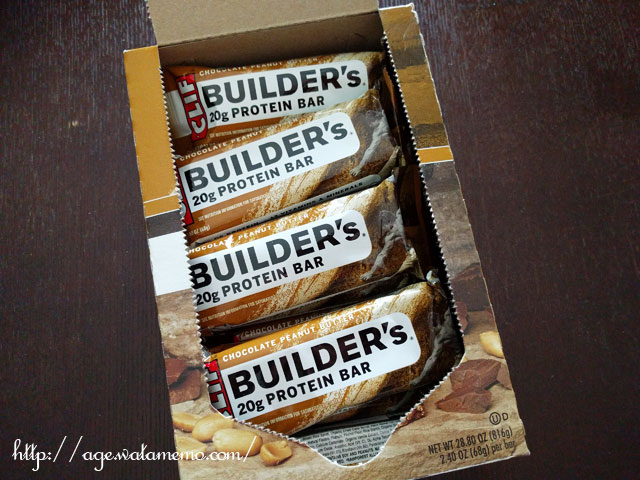 Clif Bar, Builder's Barピーナッツバター ココア ディップド ダブル デッカー クリスプ バー