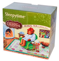 Celestial Seasonings, Herbal Tea, Caffeine Free, Sleepytime