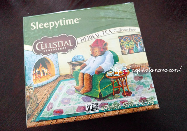 1.1 Celestial Seasonings(セレッシャルシーズニングス), Herbal Tea, Caffeine Free, Sleepytime。