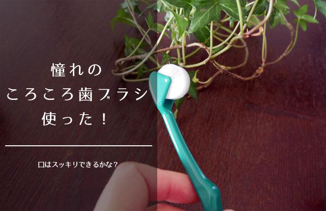 ころころ歯ブラシ