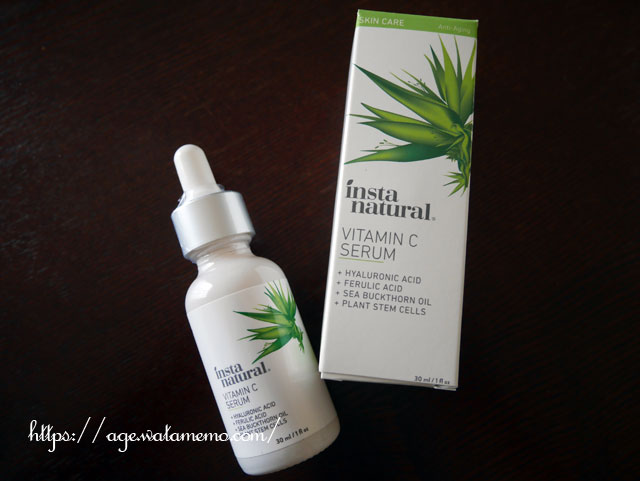 InstaNatural, Vitamin C Serum with Hyaluronic Acid + Ferulic Acid, Anti-Aging, 1 fl oz (30 ml)_アイハーブで購入した美白美容液